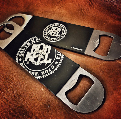 RKB Bottle Opener with Silicone Grip