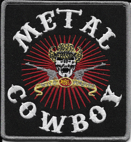 METAL COWBOY Patch