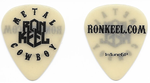 Official Ron Keel METAL COWBOY Guitar Pick
