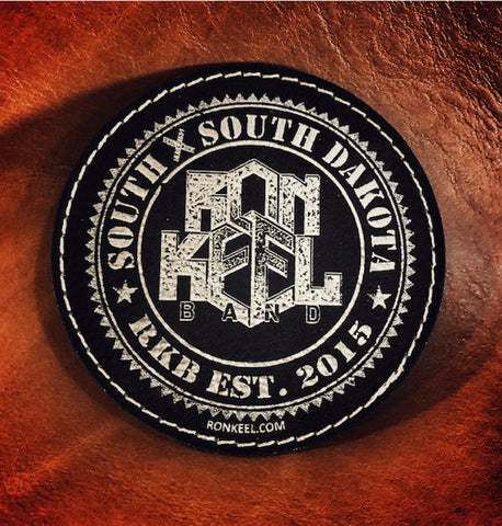 Leather Patch - Round & Square available