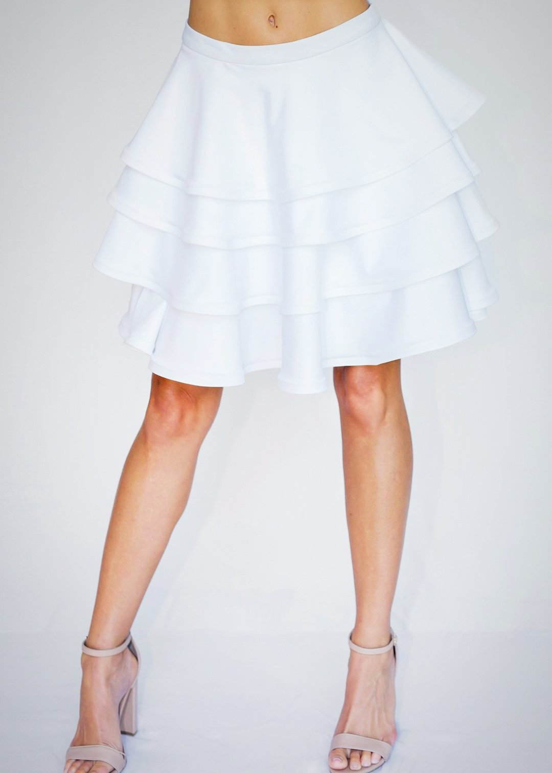 Olgita Skirt White