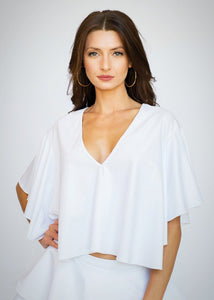 Olgita Top White