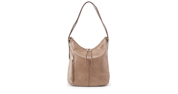 Bolso de Cuero Hobo Merrin Leather Backpack