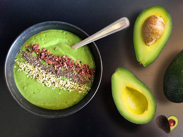 Avocado Cleanse Smoothie Bowl