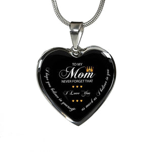 To My Mom Never Forget That - Stainless - shopthara.com