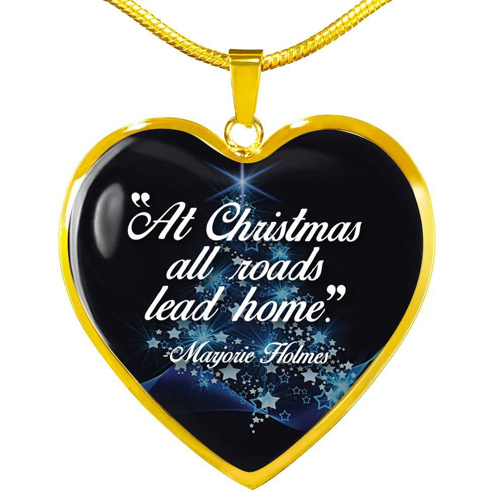 At Christmas, All Roads Lead Home - Stainless Heart - shopthara.com
