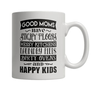 Limited Edition - GOOD MOMS HAVE STICKY FLOORS - shopthara.com