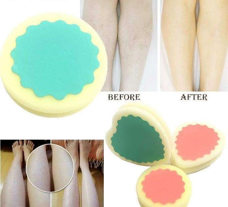 No-ouch Hair Removal Sponge - shopthara.com