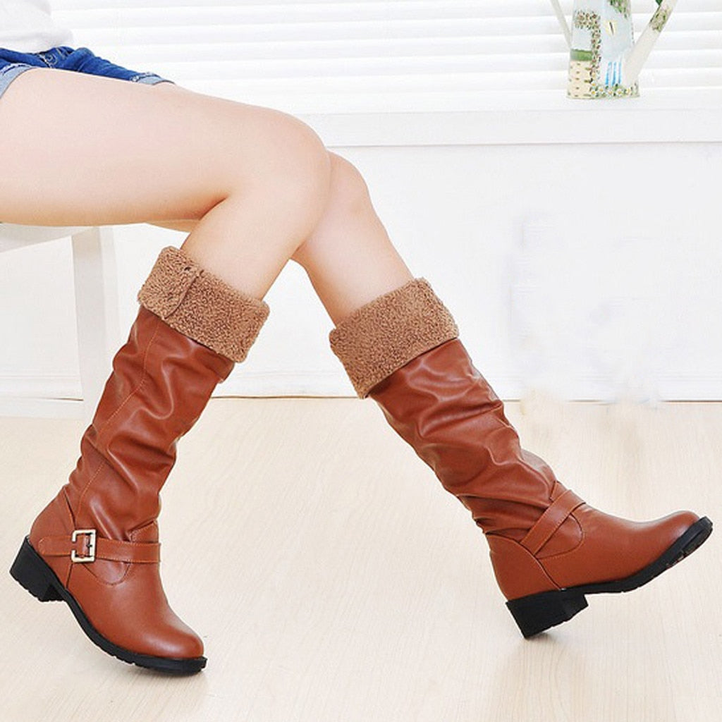 Long Tube Retro Women's Knight Boots - shopthara.com