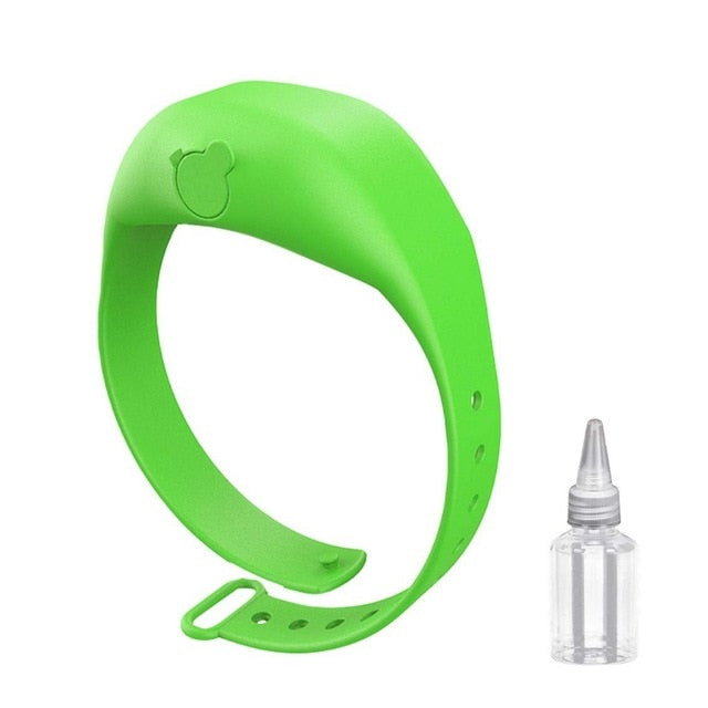 Adjustable Hand Sanitizer Wristband - thara.