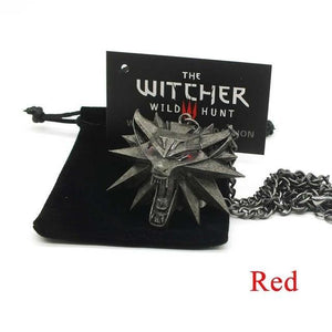 Wolf Head Medallion Necklace - shopthara.com