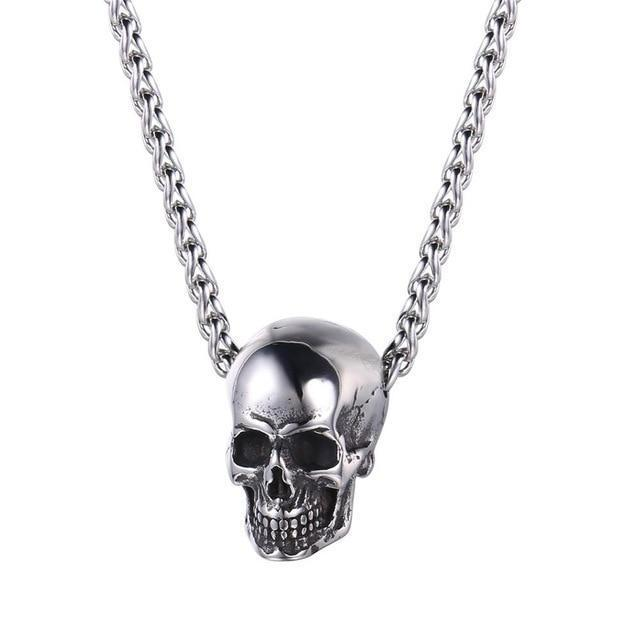 Skull Necklace - shopthara.com