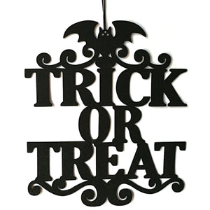 Trick Or Treat Door Decoration - thara.