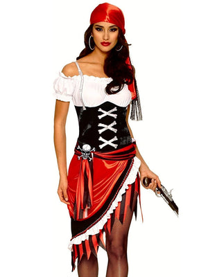 Pirate Woman Costume - thara.