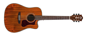 Guild D-120CE Natural Acoustic Guitar With Bag