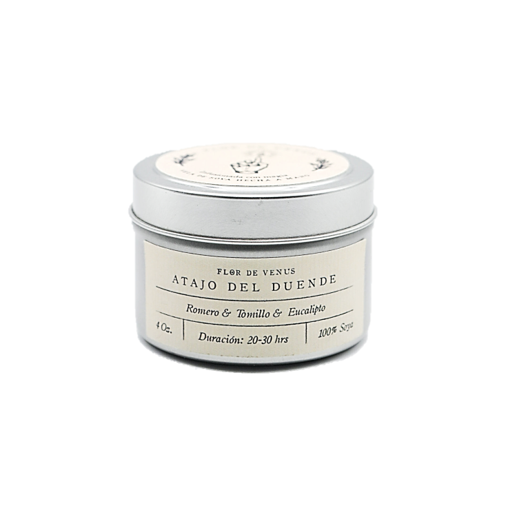 4oz | Soy Candle | Atajo Del Duende | Protector of Nature