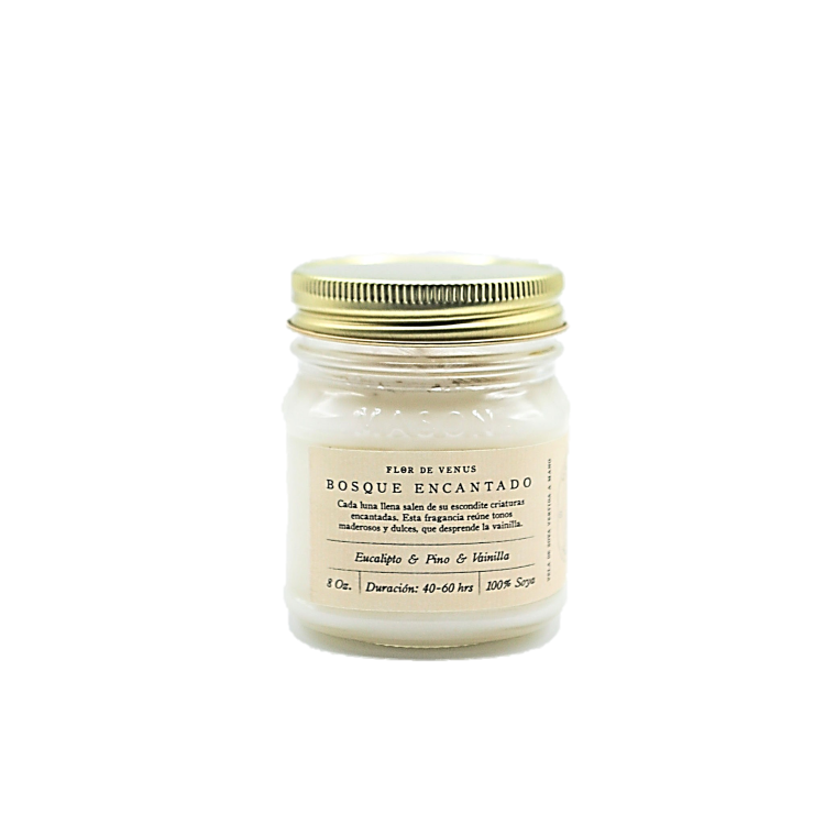 8oz | Soy Candle | Bosque Encantado | Enchanted Forest