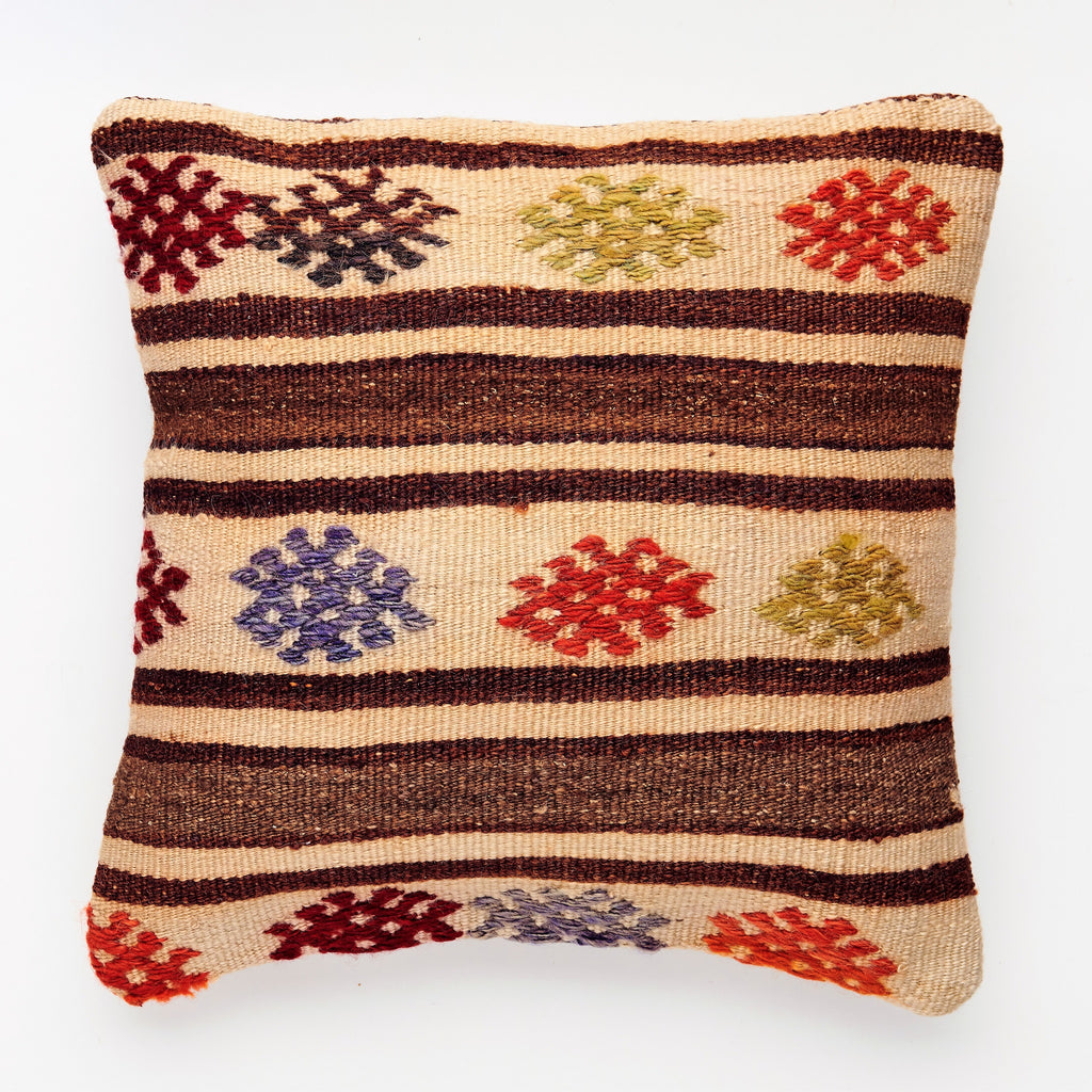 Kilim Pillow - 03 - The Wolf In Me
