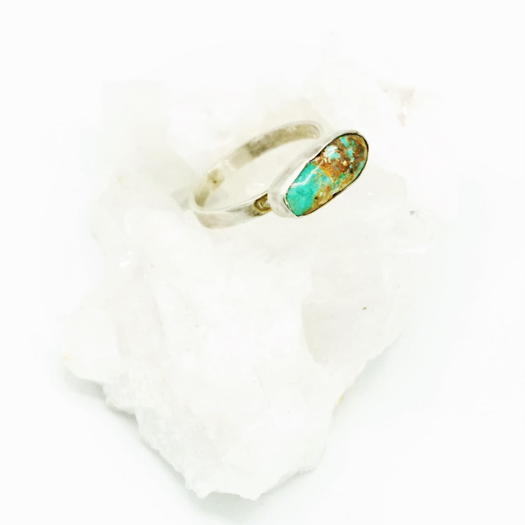Anatolia Turquoise & Silver Ring - 03 - The Wolf In Me