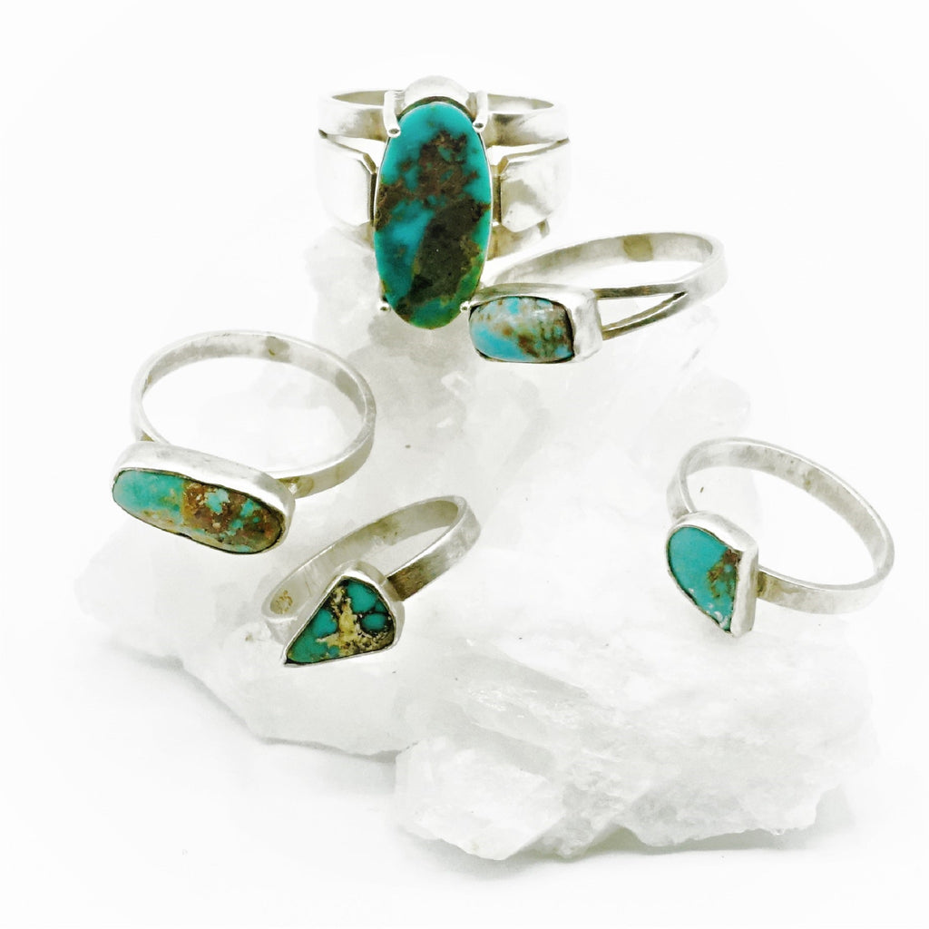 Anatolia Turquoise & Silver Ring - 06 - The Wolf In Me