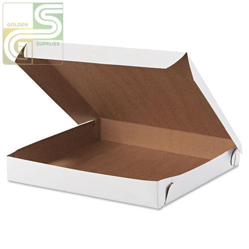 "10"" Pizza Box White 10"" x 10"" x 2"" 50 pcs-Golden Supplies Ltd"