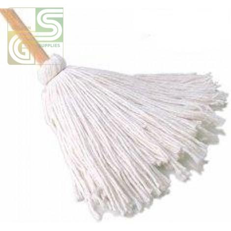 "10oz / 280g Synray Yacht Mop With 48"" Wooden Handle-Golden Supplies Ltd"