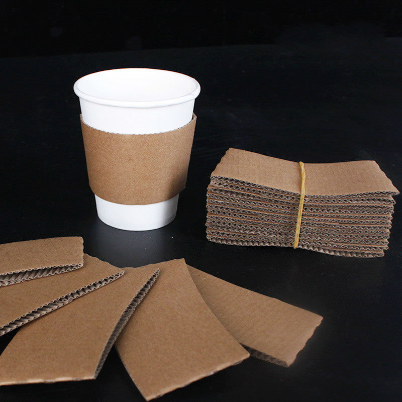 Paper Cup Sleeves 1000 Pcs