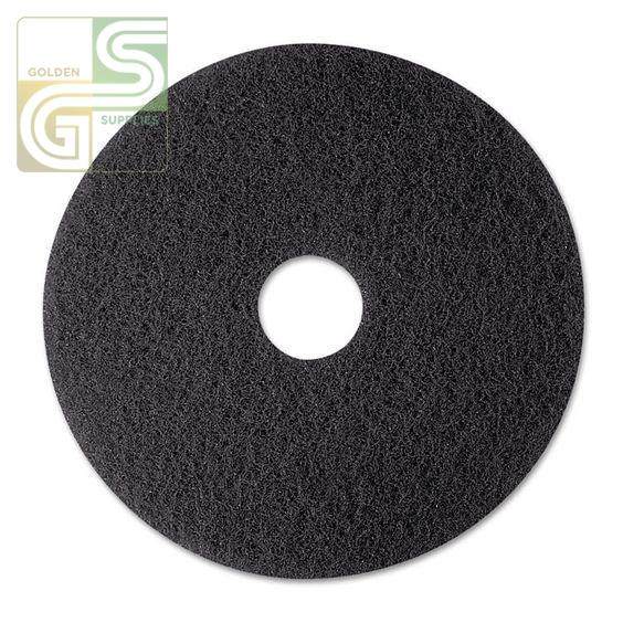 "12"" Black Strip Floor Pad 5 Pcs-Golden Supplies Ltd"