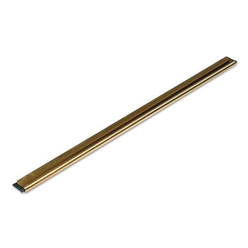"Brass Channel With Rubber 12"" / 30 Cm"