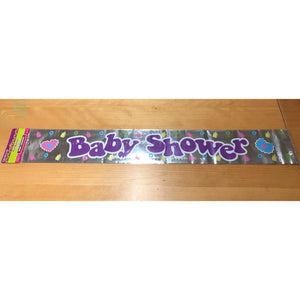 12ft Baby Shower Banner-Golden Supplies Ltd