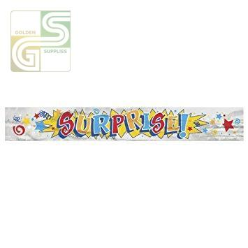 12ft Suprise Banner-Golden Supplies Ltd