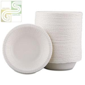 12oz Bagasse Bowl 1000/cs-Golden Supplies Ltd