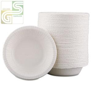 12oz Bagasse Bowl 125/sl-Golden Supplies Ltd