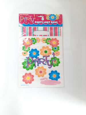 Blossom Party Loot Bags 8 Pcs