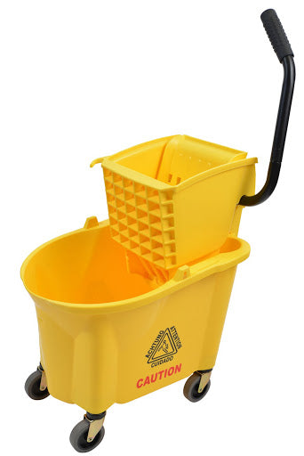 26 Qt Sidepress Bucket Combo Yellow