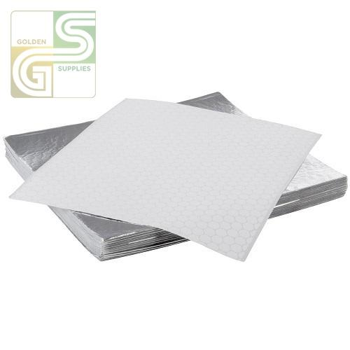 14x14 Insulated Foil 1000/cs-Golden Supplies Ltd