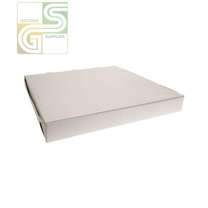 "16"" Pizza Box White 16"" x 16"" x 2"" 50 pcs-Golden Supplies Ltd"