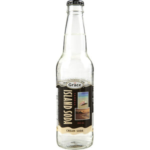 Island Soda Cream Soda 12 Bottles x 355ml