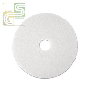 "18"" White Super Polish Floor Pad 5 Pcs-Golden Supplies Ltd"