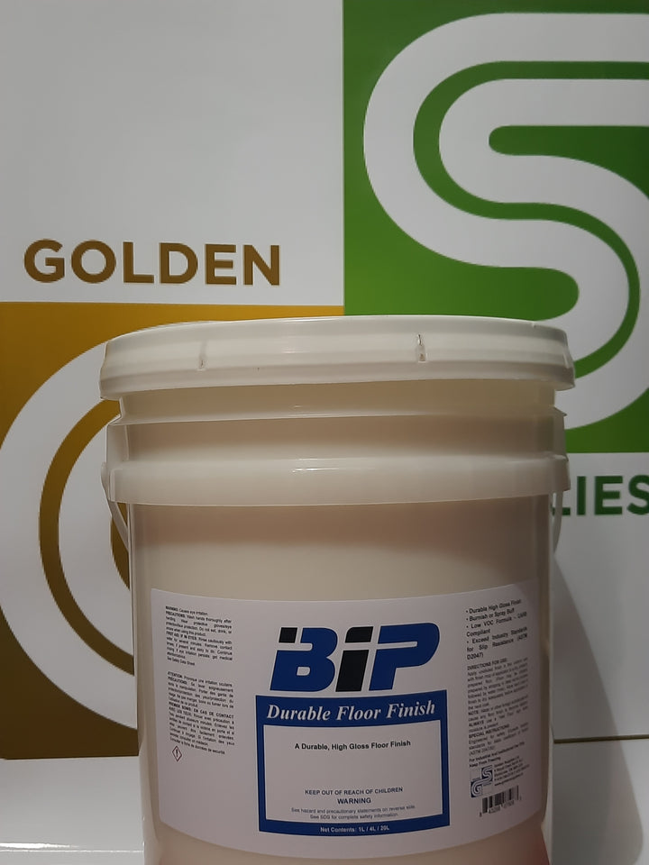 Bip - Durable Floor Finish 20L x 1 Pail