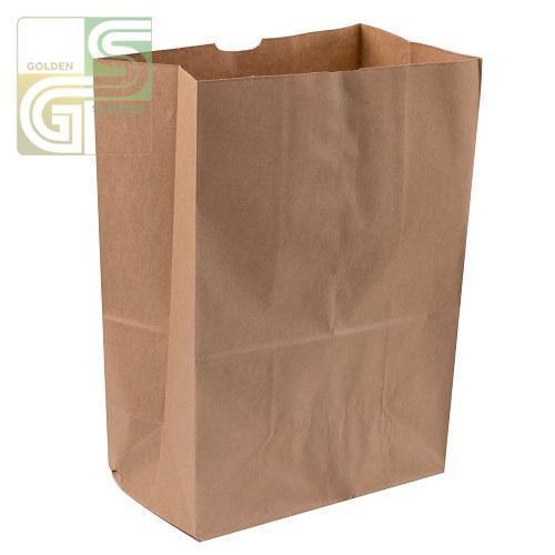 "1lb Kraft Grocery Bag (3 1/2""*2 1/4""*6 3/4"") 500/bundle-Golden Supplies Ltd"