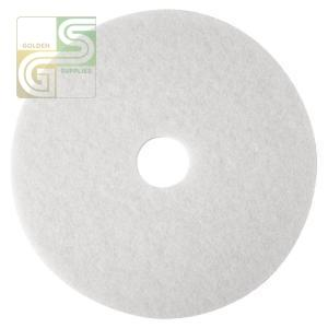 "20"" White Floor Pad 5 Pcs-Golden Supplies Ltd"