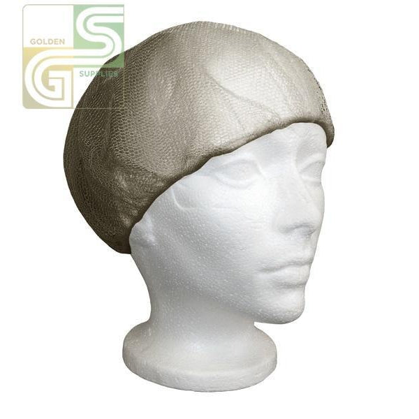 "21"" Hair Net Black 100 Pcs x 1 Bag=100 Pcs-Golden Supplies Ltd"
