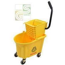 26 Qt Sidepress Bucket Combo Yellow-Golden Supplies Ltd