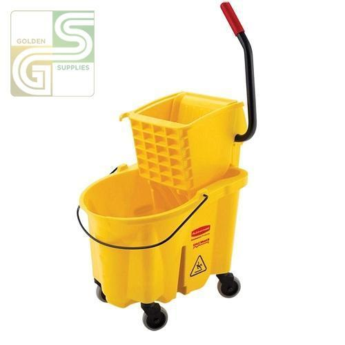 26 Qt Sidepress Combo Bucket Wave Brake Rubbermade-Golden Supplies Ltd