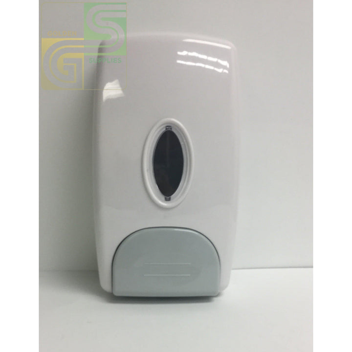 377 White Manual Soap Dispenser-Golden Supplies Ltd