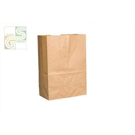 "5lb Kraft Grocery Bag (5 1/4""*3 3/8""*10 13/16"") 500/Bundle-Golden Supplies Ltd"