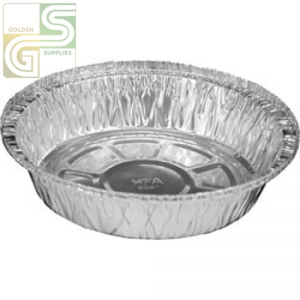 "7"" Round Aluminium Pans 200/cs-Golden Supplies Ltd"
