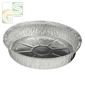 "8"" Round Aluminium Pans 250/cs-Golden Supplies Ltd"