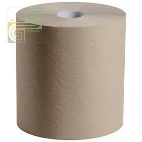 800' x 8' Brown Hand Towel Roll 6 Roll / Box-Golden Supplies Ltd